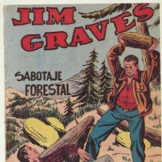 Tebeos: JIM GRAVES. SELECCIÓN DE AVENTURAS Nº 20. TORAY 1954. Lote 154003165