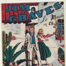 Tebeos: JIM GRAVES. SELECCIÓN DE AVENTURAS Nº 22. TORAY 1954. Lote 154003169