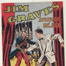 Tebeos: JIM GRAVES. SELECCIÓN DE AVENTURAS Nº 23. TORAY 1954. Lote 154003173