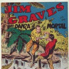 Tebeos: JIM GRAVES. SELECCIÓN DE AVENTURAS Nº 24. TORAY 1954. Lote 154003177