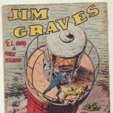 Tebeos: JIM GRAVES. SELECCIÓN DE AVENTURAS Nº 25. TORAY 1954. Lote 154003181