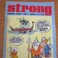 Tebeos: STRONG - NÚMERO 12 - AÑO 1969. Lote 154379474