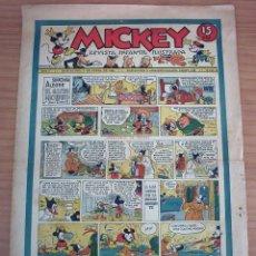 Tebeos: MICKEY. REVISTA INFANTIL ILUSTRADA - NÚM. 13 - AÑO 1935. Lote 154546142