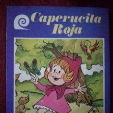 Tebeos: CAPERUCITA ROJA CUENTOS DE SIEMPRE EUROPA-EDIEXPORT 1984 DE LOS RÍOS-ALFREDO GÓMEZ. Lote 154762982