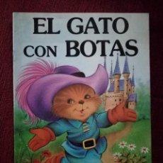 Tebeos: EL GATO CON BOTAS LEANDRO LARA EDITOR PRECIOSOS DIBUJOS SIN FIRMA NUEVO . Lote 154764090