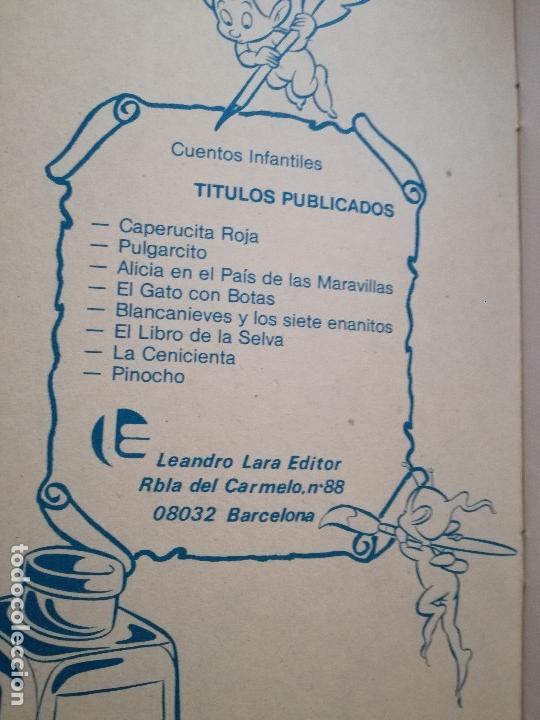 Tebeos: EL GATO CON BOTAS LEANDRO LARA EDITOR PRECIOSOS DIBUJOS SIN FIRMA NUEVO - Foto 6 - 154764090
