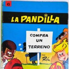 Tebeos: TOMO 6 LA PANDILLA. COMPRA UN TERRENO. ROBA. IMPRENTA SIRVEN. SAE. BARCELONA 1969. Lote 154786818