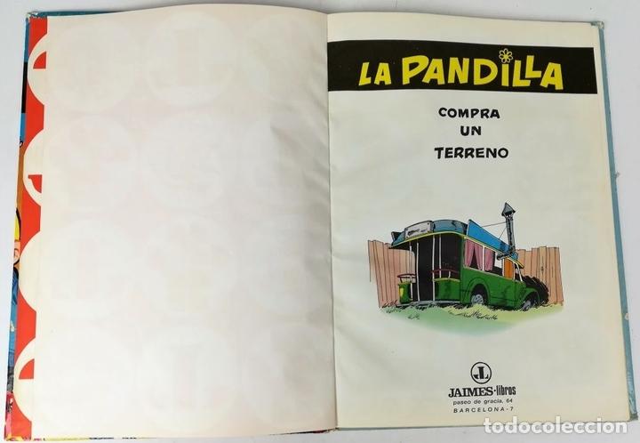 Tebeos: TOMO 6 LA PANDILLA. COMPRA UN TERRENO. ROBA. IMPRENTA SIRVEN. SAE. BARCELONA 1969 - Foto 3 - 154786818