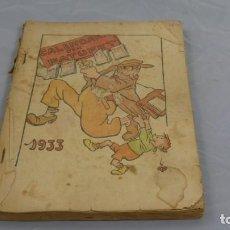 Tebeos: CALENDARI D'EN PATUFET . 1933 . . Lote 154837870