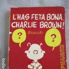 Tebeos: L'HAS FETA BONA CHARLIE BROWN EDICIONS 62 - 1ª EDICIÓ 1971. Lote 154861562