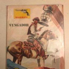 Tebeos: COLECCION OESTE SIN NUMERAR S/N. SHERIFF. VENGADOR. VILMAR 1981. Lote 154932530