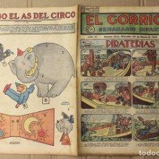 Tebeos: EL GORRION SEMANARIO INFANTIL. Nº 173. 25 DE MARZO DE 1936. RECORTABLE JUMBO EL AS DEL CIRCO. Lote 155257366