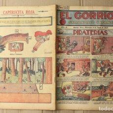 BDs: EL GORRION SEMANARIO INFANTIL. Nº 175. 8 DE ABRIL DE 1936. RECORTABLE CAPERUCITA ROJA EN TRASERA. Lote 155258748