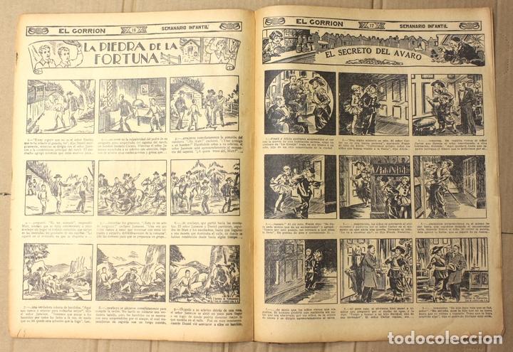 Tebeos: EL GORRION SEMANARIO INFANTIL. Nº 176. 15 DE ABRIL DE 1936. RECORTABLE UNA ESCENA EN LA PLAYA - Foto 2 - 155258902