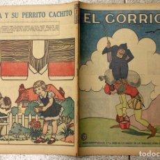 Tebeos: EL GORRION SEMANARIO INFANTIL. Nº 210. 9 DE DICIEMBRE 1936. RECORTABLE LUISITA Y SU PERRITO CACHITO. Lote 155259528
