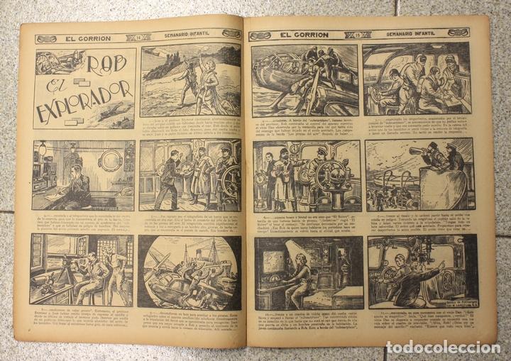 Tebeos: EL GORRION SEMANARIO INFANTIL. Nº 210. 9 DE DICIEMBRE 1936. RECORTABLE LUISITA Y SU PERRITO CACHITO - Foto 2 - 155259528