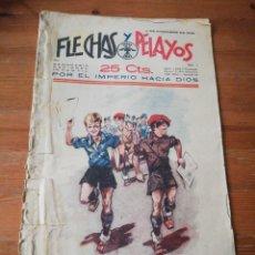 Tebeos: FLECHAS Y PELAYOS. NÚMERO 1. 1938. Lote 155790018