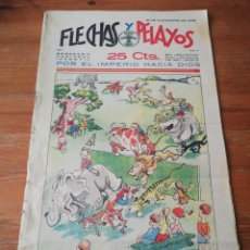 Tebeos: FLECHAS Y PELAYOS. NÚMERO 2. 1938. Lote 155790154