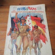 Tebeos: FLECHAS Y PELAYOS. NÚMERO 84. 1940. Lote 155790254