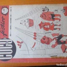 Tebeos: CUCU Nº 85 - 1947 - SEMANARIO FESTIVO. Lote 155871818