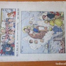 Tebeos: LOTE DE 4 REVISTAS EL BENJAMIN -AÑOS 40 -Nº:49, 52, 53-54, 91. Lote 155872738