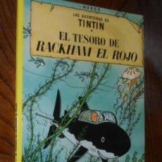 Tebeos: LAS AVENTURAS DE TINTIN. EL TESORO DE RACKHAM EL ROJO. TAPA BLANDA (RUSTICA). JUVENTUD. 2003.. Lote 155875686
