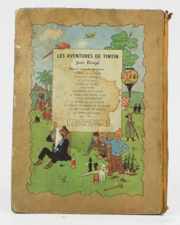 Tebeos: Les aventures de Tintin, les 7 boules de cristal, 1948, Casterman, Paris. 30,5x23cm - Foto 2 - 155923578