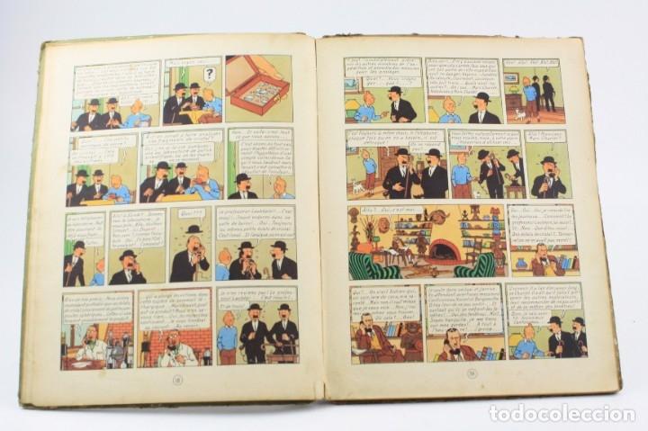 Tebeos: Les aventures de Tintin, les 7 boules de cristal, 1948, Casterman, Paris. 30,5x23cm - Foto 6 - 155923578