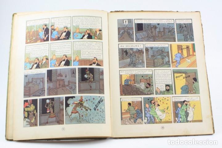 Tebeos: Les aventures de Tintin, les 7 boules de cristal, 1948, Casterman, Paris. 30,5x23cm - Foto 7 - 155923578