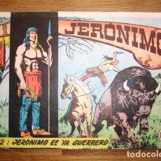 Tebeos: JERÓNIMO. Nº 2 : JERÓNIMO ES YA GUERRERO (COLECCIÓN GALAOR). Lote 155951082