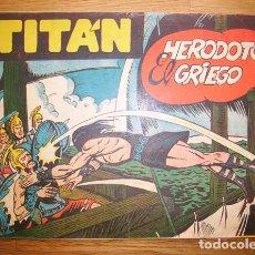 Tebeos: TITÁN. NÚM. 23 : HERODOTO EL GRIEGO. - EDICIONES ACRÓPOLIS. Lote 155951774