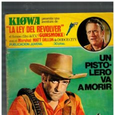 Tebeos: KIOWA -LA LEY DEL REVOLVER- Nº 11. EDICIONES ANCEO,1975.. Lote 155999922