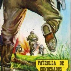 Tebeos: EDITORIAL VILMAR. GUERRA. Nº 48. PATRULLA DE CONDENADOS.. Lote 156066574
