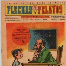 Tebeos: FLECHAS Y PELAYOS. Nº 355. 23 DE SEPTIEMBRE DE 1945. Lote 156143281