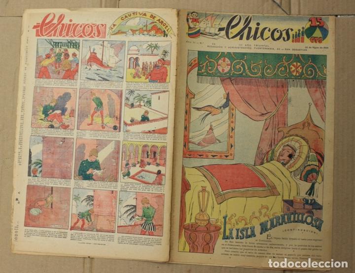 CHICOS. Nº 55. 22 DE MARZO DE 1939. INCLUYE SUPLEMENTO ANDANZAS DE TOMASITA (Tebeos y Comics - Tebeos Otras Editoriales Clásicas)