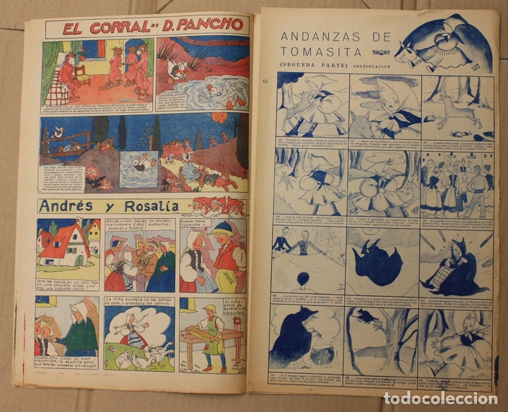 Tebeos: CHICOS. Nº 55. 22 DE MARZO DE 1939. INCLUYE SUPLEMENTO ANDANZAS DE TOMASITA - Foto 2 - 156148966