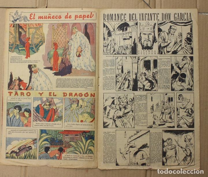 Tebeos: CHICOS. Nº 91. 29 DE NOVIEMBRE DE 1939. INCLUYE CUADERNILLO CENTRAL ESTAMPAS DE ESPAÑA - Foto 2 - 156156921