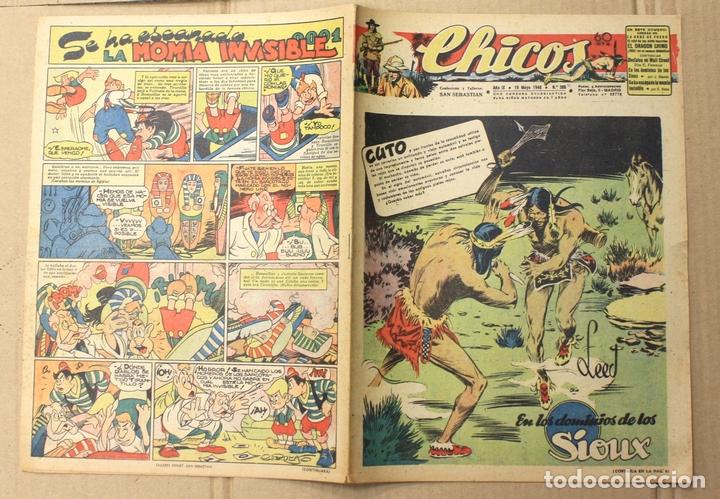 CHICOS. Nº 386. 19 DE MAYO DE 1946. CUTO. 60 CTS. (Tebeos y Comics - Tebeos Otras Editoriales Clásicas)