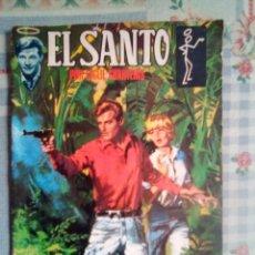 Tebeos: EL SANTO -SEMIC ESPAÑOLA- Nº 10 -LA TELA DE ARAÑA-1966-RARO Y DIFÍCIL-CORRECTO ESTADO-LEAN-0568. Lote 156302236
