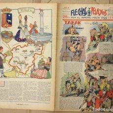 Tebeos: FLECHAS Y PELAYOS. Nº 66. 10 DE MARZO DE 1940. 25 CTS. Lote 156510724