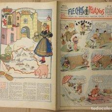 Tebeos: FLECHAS Y PELAYOS. Nº 62. 11 DE FEBRERO DE 1940. 25 CTS. Lote 156510973