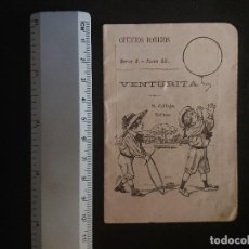 Tebeos: CUENTOS BONITOS , VENTURITA S.CALLEJA EDITOR SERIE V TOMO 88 ,EDICION MINI , CONTINE ALGUNA IMAGEN . Lote 156777910