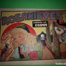 Tebeos: ROSANIEVES EDICCION ORIGINAL AÑOS 40-50 AMELLER COLECCION PILARIN Nº 22. Lote 156900938