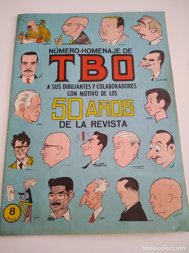 NUMERO HOMENAJE DE TBO 1958 (Tebeos y Comics - Tebeos Otras Editoriales Clásicas)