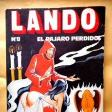Tebeos: LANDO Nº 8 EL PÁJARO PERDIDO ( EDICIONES ACTUALES ) 1977. Lote 158133134