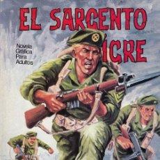 Tebeos: EL SARGENTO TIGRE Nº 4 - EDITORIAL VILMAR #. Lote 158135154