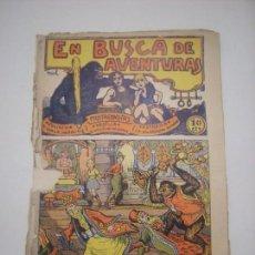 Tebeos: TBO-COMIC EN BUSCA DE AVENTURAS Nº 12 EDITORIAL EL GATO NEGRO DE BARCELONA ESTADO EL DE LAS FOTOS. Lote 148908218