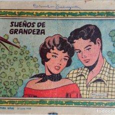 Tebeos: COLECCIÓN TROVADOR Nº182 - SUEÑOS DE GRANDEZA. Lote 158367578