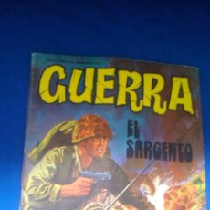 Tebeos: GUERRA - Nº29 - EL SARGENTO - EDITORIAL VILMAR. Lote 159475242