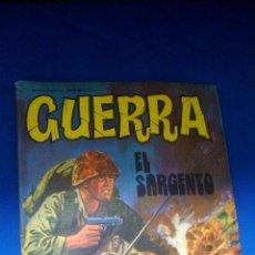 Tebeos: GUERRA - Nº29 - EL SARGENTO - EDITORIAL VILMAR. Lote 159475274